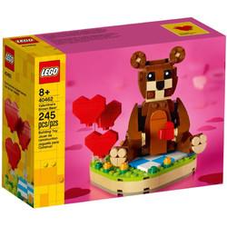 LEGO 乐高 积木方头仔 40462 情人节爱心棕熊