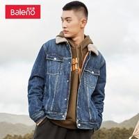 Baleno 88037597 男士夹棉羊羔牛仔外套