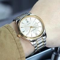 历史低价:ROSSINI 罗西尼 Y516725T01B 男士防水机械手表