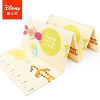 迪士尼(Disney)爬行垫加厚宝宝折叠爬爬垫XPE双面婴儿爬行地垫 XPE折叠维尼数字+米奇量身高180*200*2