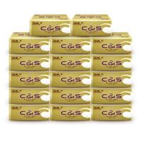 C&S 洁柔 金尊系列 抽纸 3层*100抽*30包(195*123mm) *3件