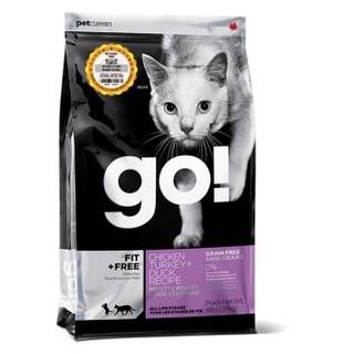 88VIP : Petcurean Go! 天然无谷九种肉 猫粮 16磅