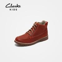 Clarks 其乐 26135930 中大童马丁靴