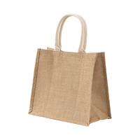 MUJI 无印良品 黄麻 简易收叠购物袋 A4