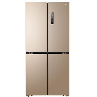 美的468升十字对开门电冰箱 双变频双系统风冷无霜 双开门四开门多门超薄