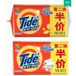 Tide 汰渍 全效洗衣皂 238g*10块