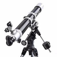 CELESTRON星特朗80EQ升级版80DX 天文望远镜 折射式 观景观天 成像清晰