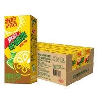 必买年货、京东PLUS会员、限地区:维他奶 港版风味柠檬茶 250ml*24盒 *4件
