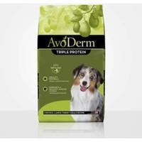 AvoDerm 牛油果 三种肉全犬粮 30磅