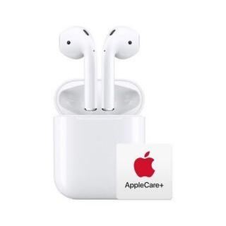Apple 苹果 AirPods(二代) 配充电盒 Apple蓝牙耳机 AppleCare+版