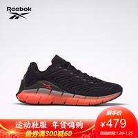 Reebok锐步新款健身ZIG KINETICA 彩虹色 男女运动鞋 EH1724_黑色/橙色 39