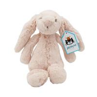 Jellycat 邦尼兔 经典害羞系列 浅桃红色兔子 小号18cm