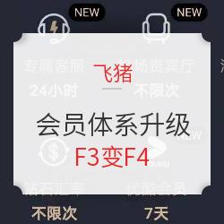 F3变F4!发布会后细细分析飞猪会员体系升级