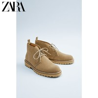 ZARA 15019002102 男士工装靴