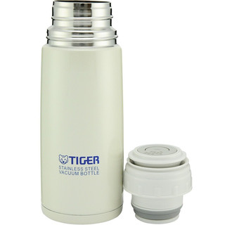 TIGER 虎牌 CSC-A350 保温杯 350ml 珍珠白