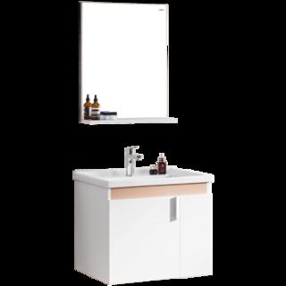 HEGII 恒洁卫浴 6019N 简约浴柜组合 60cm带侧柜