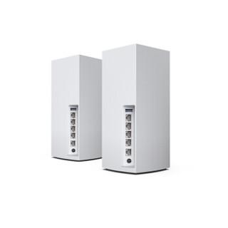 LINKSYS 领势 MX10600 5300M 千兆三频 WiFi 6 分布式路由器 两个装