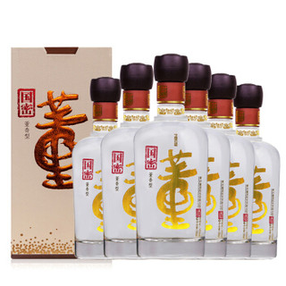 董酒 高度白酒 国密 董香型 54度 500ml*6瓶 整箱装