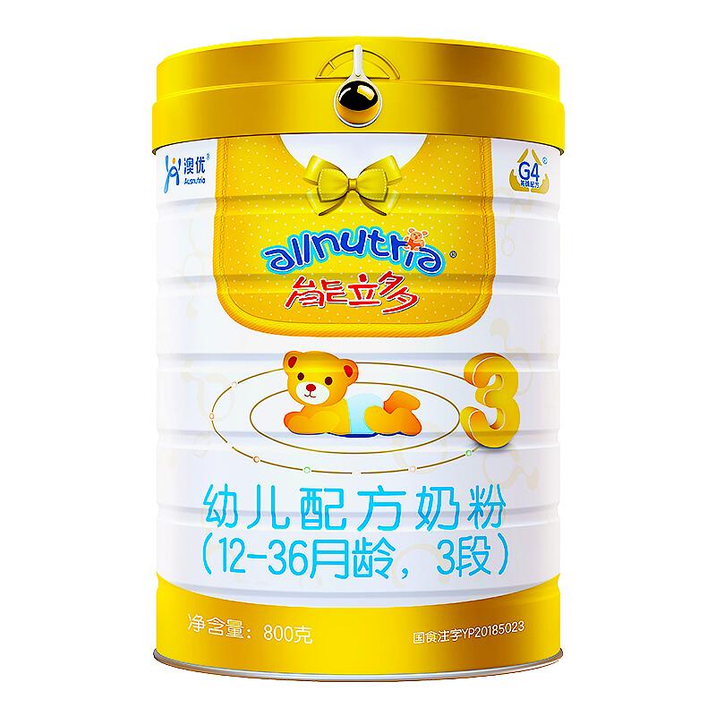 Ausnutria 澳优 能立多系列 婴儿奶粉 国行版
