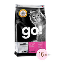 考拉海购黑卡会员:Go! 猫粮 生命防护系列 鸡肉全猫粮 16磅