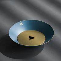 素以 日式仿古纯铜壶干泡台