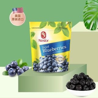美国原装进口乐事多(Nestor)蓝莓干454g 烘焙原料 果干零食 *3件