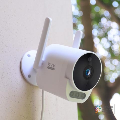 xiaovv户外摄像机 支持米家APP 广角款