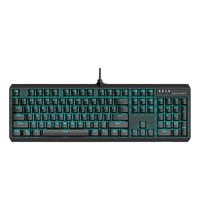 MACHENIKE 机械师 K31 104键 机械键盘 (单色、黑轴/青轴)