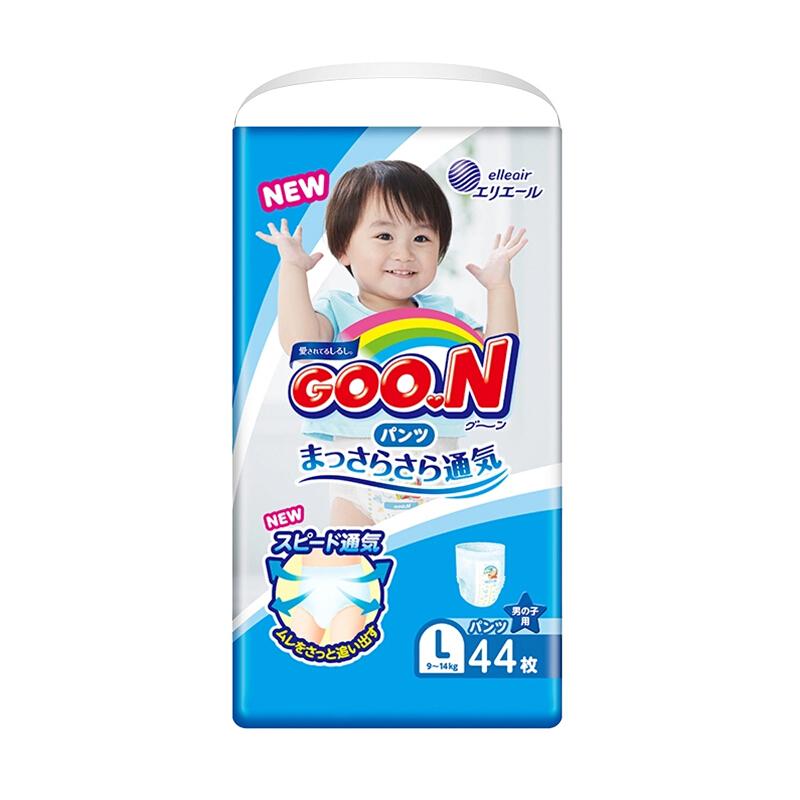 京东PLUS会员 : GOO.N 大王 维E系列 男童拉拉裤 L44片 *4件