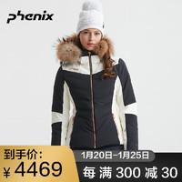 phenix菲尼克斯滑雪服女秋冬新防水單雙板滑雪衣修身ES982OT58R