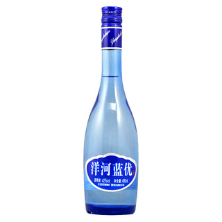 YANGHE 洋河 洋河蓝优 42%vol 浓香型白酒 480ml 单瓶装