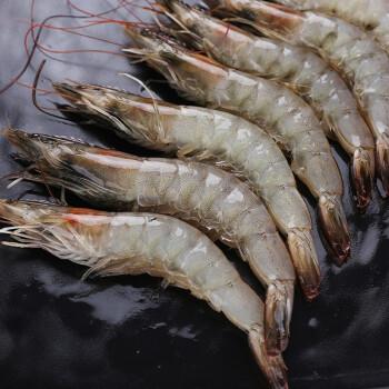 浓鲜时光 海捕白虾 1.2kg