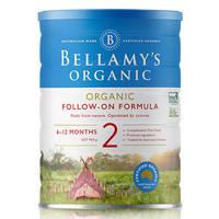 BELLAMY'S 贝拉米 婴儿奶粉2段 900g