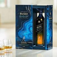 JOHNNIE WALKER 尊尼获加 200年蓝牌传奇八杰苏格兰威士忌礼盒