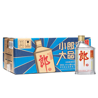 LANGJIU 郎酒 小郎酒 45%vol 兼香型白酒 100ml*24瓶 整箱装