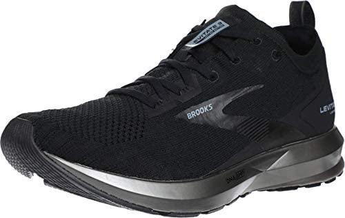 Brooks 男式 Levitate 3 鞋 Black/Ebony 9.5