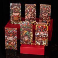 绿盒子 牛年生肖大号红包 18个混装 大号 9*16.5cm