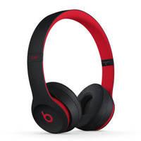 百亿补贴:Beats Solo 3 Wireless 头戴式蓝牙耳机 十周年版 桀骜黑红