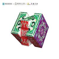 中国国家图书馆&敦煌文创&艺趣藻井 三阶魔方玩具