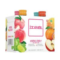 江小白 果立方 水果味系列 卡曼橘/白葡萄/蜜桃/混合口味组合高粱酒 168ml*4瓶低度礼盒装 *4件