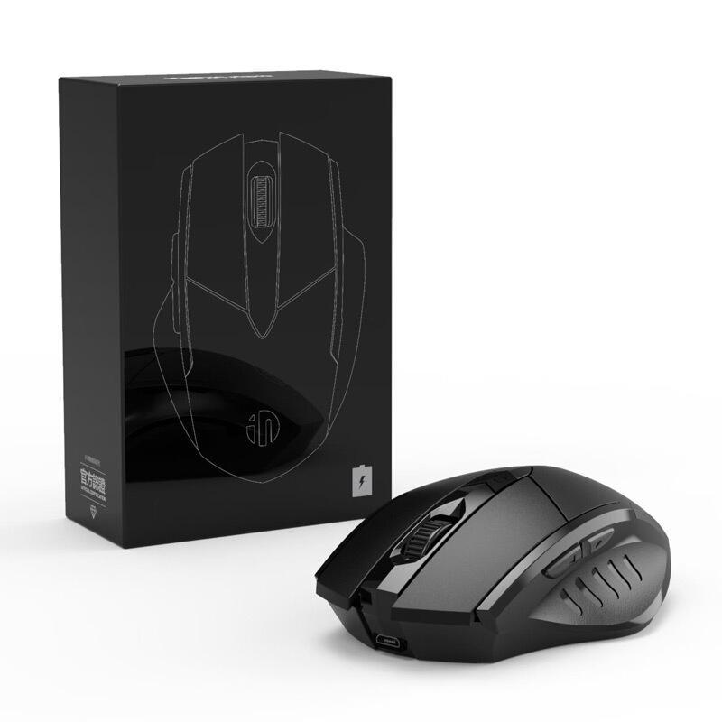 inphic 英菲克 PM6 无线鼠标 1600DPI 黑色