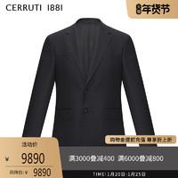 CERRUTI 1881男装秋冬商务休闲西装外套时尚纯羊毛西服C4025EI011