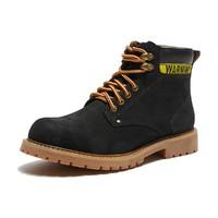 hotwind 热风  H095M9830901  男士工装靴