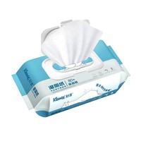 Kleenex 舒洁 无香压花湿厕纸 80片 *7件
