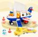 B.Duck 小黄鸭 X UNI-FUN航天滑行飞机模型积木