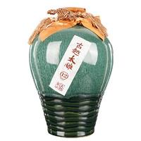 古越龙山 绍兴黄酒半甜型十二年陈古越太雕 2.5L