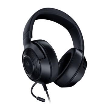 RAZER 雷蛇 雷蛇北海巨妖标准版X 耳罩式头戴式有线耳机 黑色