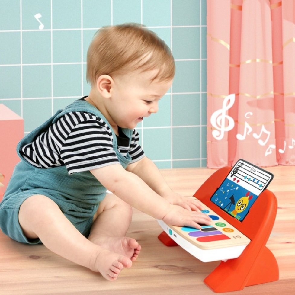 Hape 800894 智能触控电子钢琴 *2件