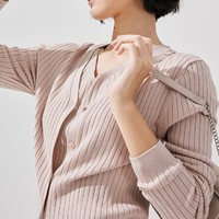 GU 极优 326131 女士开衫针织衫