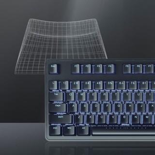 iKBC R300 108键 有线机械键盘 黑色 Cherry茶轴 白光